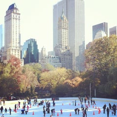 Photo taken at Wollman Ice Skating Rink by kate spade new york on 11/5/2011