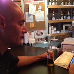 Photo taken at The Upper Crust Pizzeria by Maria W. on 6/25/2012