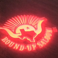 Photo taken at Round-Up Saloon and Dance Hall by NCM P. on 9/10/2011