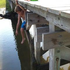Photo taken at Town Neck Beach / Boardwalk by Commuter D. on 8/4/2012