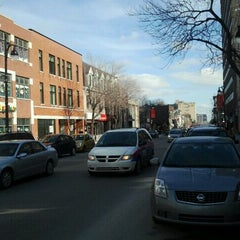 Photo taken at Boulevard Saint-Laurent by JulienF on 3/9/2012