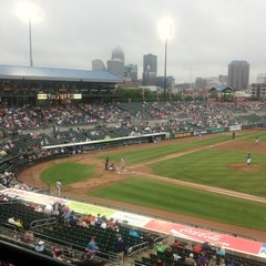 Photo taken at Principal Park by Katie D. on 6/16/2012