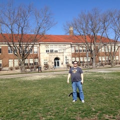 Photo taken at Brown vs. Board of Education National Historic Site by Heather T. on 3/13/2012