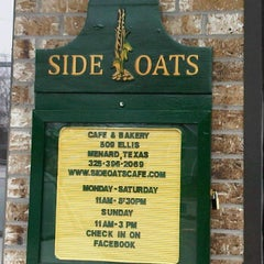 Photo taken at Side Oats Cafe by Mary D. on 3/5/2012