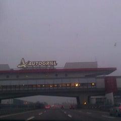 Photo taken at A4 Torino - Trieste by Aurora A. on 10/30/2011