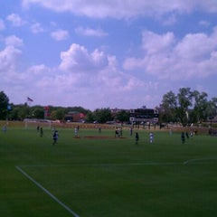 Photo taken at John Crain Field at the OU Soccer Complex by Brian P. on 9/17/2011