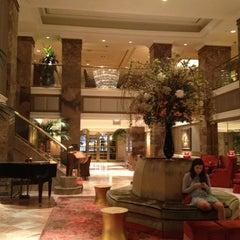Photo taken at The Michelangelo Hotel by Katrina Eireen M. on 7/28/2012