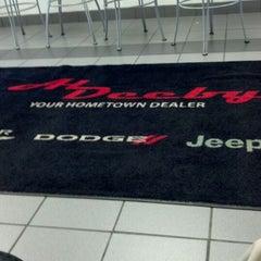 Photo taken at Al Deeby Chrysler Dodge Jeep by Trevor S. on 4/11/2012