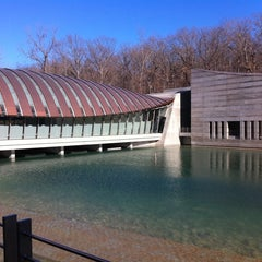 Photo taken at Crystal Bridges Museum of American Art by Chava B. on 1/1/2012