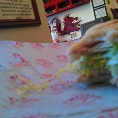 Photo taken at Beezer's Gourmet Sandwich Shop by Pauly C. on 1/12/2012