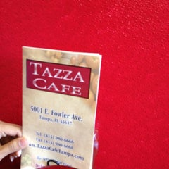 Photo taken at Tazza Cafe by Keith C. on 2/21/2012