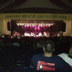 Photo taken at Pompano Beach Amphitheatre by Kris L. on 3/4/2012
