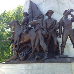 Photo taken at Virginia Monument, Gettysburg Battlefield by Jeremy T. on 5/19/2012