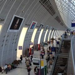 Photo taken at Gare SNCF d'Avignon TGV by Brice L. on 7/23/2012