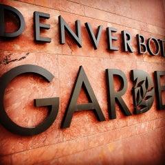 Photo taken at Denver Botanic Gardens by ArtJonak on 4/6/2012