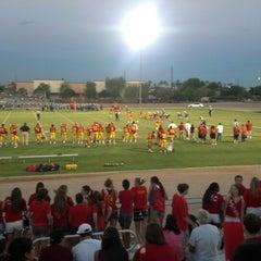 Photo taken at Seton Catholic Preparatory High School by Justin B. on 8/25/2012