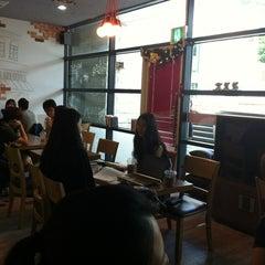Photo taken at 고려대학교 중앙광장 펠리스 by JinYoung P. on 8/8/2012