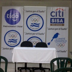 Photo taken at Comité Olímpico de El Salvador by Jose M. on 7/16/2012