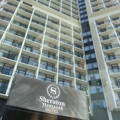 Photo taken at Sheraton Montazah Hotel by Mervan A. on 9/8/2012