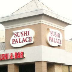 Photo taken at Sushi Palace by Mei C. on 3/12/2012
