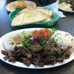 Photo taken at House of Falafel by May C. on 2/25/2012