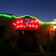 Photo taken at Los Dos Molinos by Jimmy T. on 2/18/2012