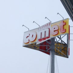 Photo taken at Comet by Tiziana T. on 2/21/2012