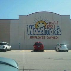 Photo taken at Woodman's Food Market by Norris S. on 8/7/2012