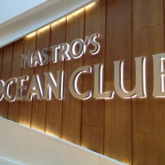 Photo taken at Mastro's Ocean Club by Tricia B. on 5/26/2012