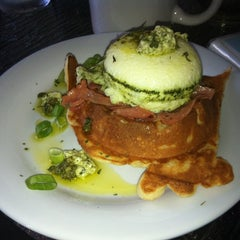 Photo taken at Waffle Era Tea Room by Yashira on 8/4/2012