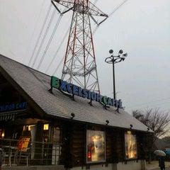 Photo taken at エクセルシオールカフェ 基山パーキングエリア下り店 by mattun m. on 2/17/2012