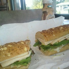Photo taken at Subway by Nate S. on 9/8/2012