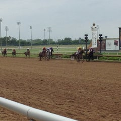 Photo taken at Lone Star Park by Jonathan Harris S. on 4/14/2012