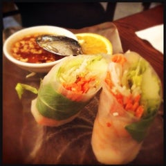 Photo taken at Thai On Main by Andrea B. on 9/1/2012