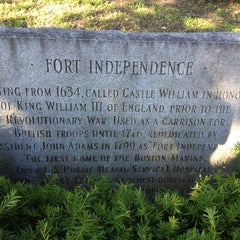 Photo taken at Fort Independence by Eric A. on 6/10/2012