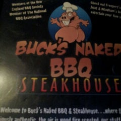 Photo taken at Buck's Naked BBQ by Jesse P. on 3/11/2012