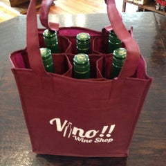 Photo taken at Vino!! Wine Shop by Pittsboro-Siler City Convention & Visitors Bureau on 8/18/2012