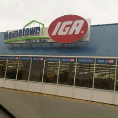 Photo taken at IGA by carma a. on 5/13/2012