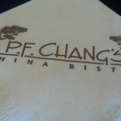 Photo taken at P.F. Chang's by Sharon A. on 7/19/2012