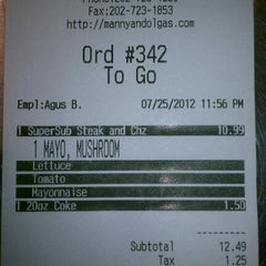 Photo taken at Manny & Olga's Pizza by Ace W. on 7/26/2012