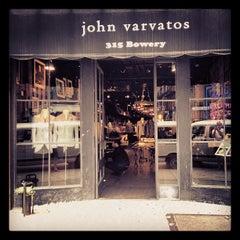 Photo taken at John Varvatos Bowery NYC by Evan H. on 5/14/2012