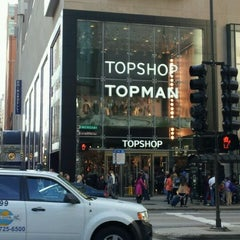 Photo taken at Topshop by John Y. on 9/24/2011
