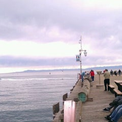 Photo taken at Stearns Wharf by Kevin T. on 12/17/2011