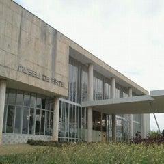 Photo taken at Museu de Arte da Pampulha by Marcel Y. on 9/17/2011