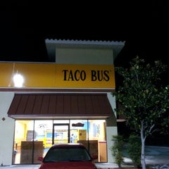 Photo taken at Taco Bus by Lawrence S. on 8/24/2012