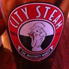 Photo taken at City Steam Brewery by David S. on 6/4/2012