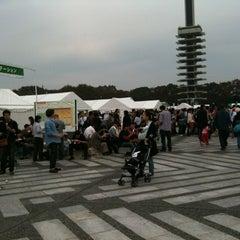 Photo taken at 駒沢オリンピック公園総合運動場 屋外プール by Yasuharu S. on 11/3/2011