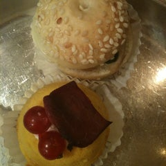Photo taken at Café Pasticceria Gamberini by Alelunetta on 11/27/2011