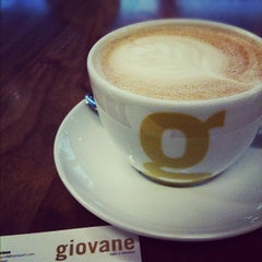 Photo taken at Giovane Café + Market + Eatery by Takunori A. on 1/29/2012