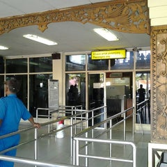Photo taken at Bandara Radin Inten II Lampung Selatan (TKG) by Citra F. on 3/23/2012